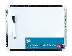 Magnetbrett/Whiteboard, A4, inkl. Stift und Löscher