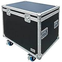 Flight Case Road Trunk 800mm Audio Visual Aufbewahrung, Flight Case, Road, Stamm, 800mm, Farbe: Schwarz, externe Tiefe: 800mm, externe Länge/Höhe: 722mm, Breite außen: 600mm, Gewicht: 24kg