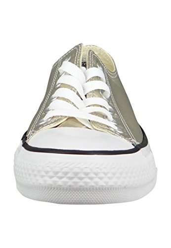 Converse Chuck Taylor All Star Ox, Chaussures Homme Light Gold White Black