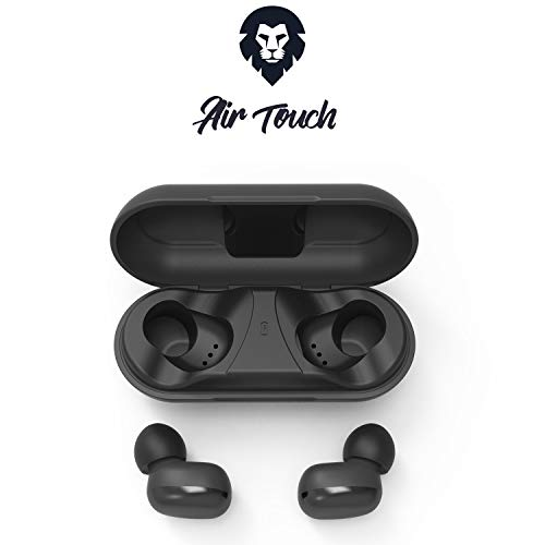Encore Air Touch ecouteur Bluetooth Tactile, Marque française 21h de Son, Batterie Externe. Casque sans Fil Micro. Oreillette Bluetooth TWS Compatible: Apple iPhone iPad, Huawei, Smartphone