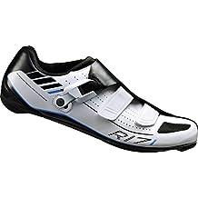 SHIMANO Zapatos de Bicicleta de Carretera Adultos Zapatos SH-R171W GR, 50 SPD-