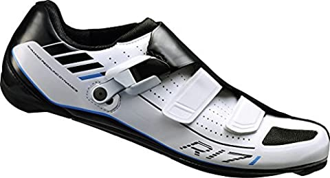 Shimano Cycling Shoes Road Shoes SH R171 W – Adult Size 43 wide SPD-SL Velcro/RATSCHENV. ESHR171 °C430WE, Multi, 43