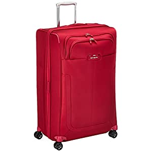 SAMSONITE Duosphere - Spinner 78/29 Expandable Hand Luggage, 78 cm, 118 liters, Red (Granita Red)