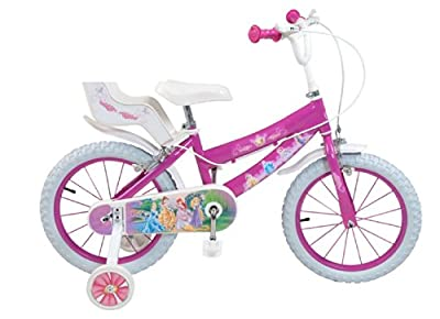 Toimsa Mädchen Fahrrad Princess, Rosa, 16 Zoll, 645