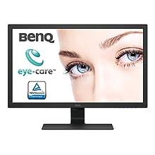 BenQ BL2783 27 Inch 1080p Eye-Care 1ms 75 Hz LED Monitor, Brightness Intelligence, Anti-Glare, Flicker-Free, Black
