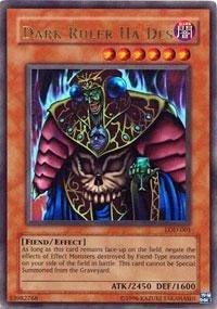 Yu-Gi-Oh! - Dark Ruler Ha Des (LOD-001) - Legacy of Darkness - Unlimited Edition - Ultra Rare by Yu-Gi-Oh! (Dark Ruler Ha Des)