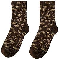 Tubo Medio Estampado De Leopardo Calcetines Los Hombres Mujeres Otoño E Invierno Mantener Caliente Algodón Transpirable