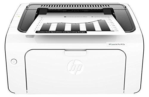 Hp m12a laserjet pro stampante monocromatica, standard, bianco