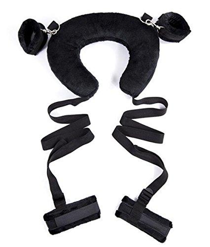 coussin-oreiller-tour-de-cou-position-controle-ouvert-au-niveau-de-la-cuisse-avec-bretelles-reglable
