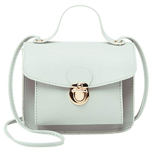 VJGOAL Schultertasche Damen Frauen Mädchen Einfarbig Elegant Mode Mobile Geldbörse Umhängetasche Messenger Tasche -