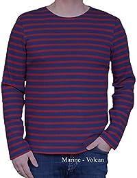 0e9280f5e988d4 Saint James Herren Shirt gestrickt gestreift 100% Baumwolle Gr.M