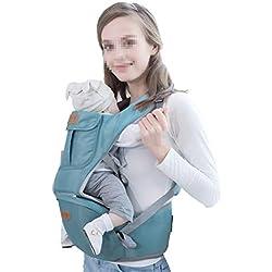 BABY CARRIER Mochila Portabebés Transpirable de Malla Transpirable con Mochila portabebés multiposición de diseño ergonómico para bebés y recién Nacidos de 3,5 a 20 kg.