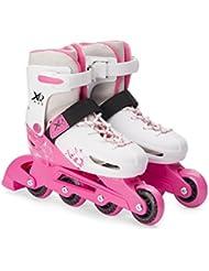 XQ Max Chica Rollerblades - Patines en línea para niños ajustable tamaño Pro Skating