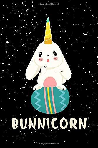Bunnicorn: A Blank Lined Journal For The Bunny and Unicorn Lover -
