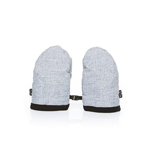 ABC Design 91258603Handschuhe Gepolstert Für Winterspaziergang, Graphite Grey