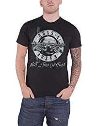 Guns N Roses T Shirt Not in This Lifetime Tour Xerox Logo officiel Homme Noir