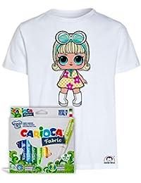 Amazon it Abbigliamento Top Shirt Bluse T Shirt Bianco E ZZrAxqwf