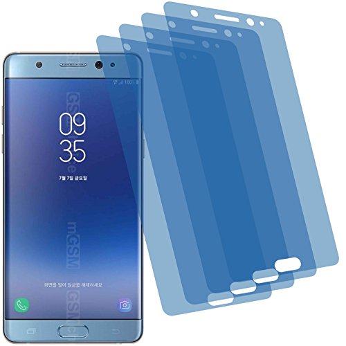 4ProTec 4X ANTIREFLEX matt Schutzfolie für Samsung Galaxy Note FE Premium Displayschutzfolie Bildschirmschutzfolie Schutzhülle Displayschutz Displayfolie Folie