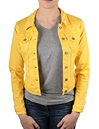 da1c392ae Hailys Women's Quilted Jacket Yellow Yellow