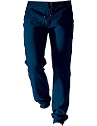 Kariban Mens Brushed Fleece Jog Pants Oxford
