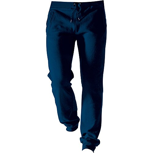 Kariban Mens Brushed Fleece Jog Pants Oxford Navy