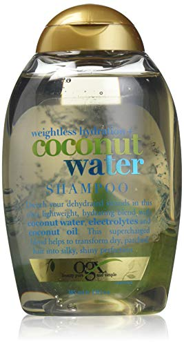 OGX Weightless Hydration Coconut Water Shampoo - 385Ml