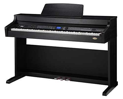 Classic-Cantabile-DP-A-410-SM-E-Piano-Digitalpiano-mit-Hammermechanik-88-Tasten-600-Voices-Kopfhreranschluss-USB-Begleitautomatik-Aufnahmefunktion-3-Pedale-Piano-fr-Anfnger-schwarz-matt