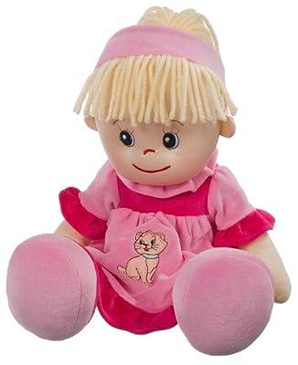 Heunec 470675 Poupetta Liesel - Muñeca de pelo rubio de Heunec