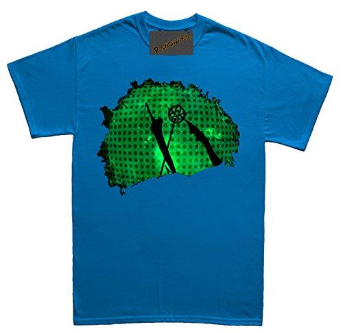 Renowned The Final Sword Legands Herren T Shirt Blau
