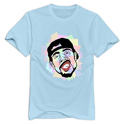 KST - T-shirt - Homme -  Bleu - Small