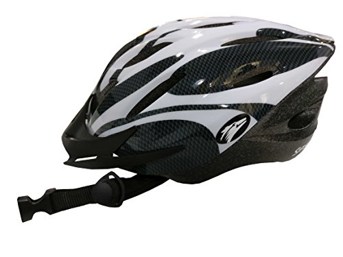Coyote Sierra Adult Cycle Helmet (White, Medium (54-59cm))