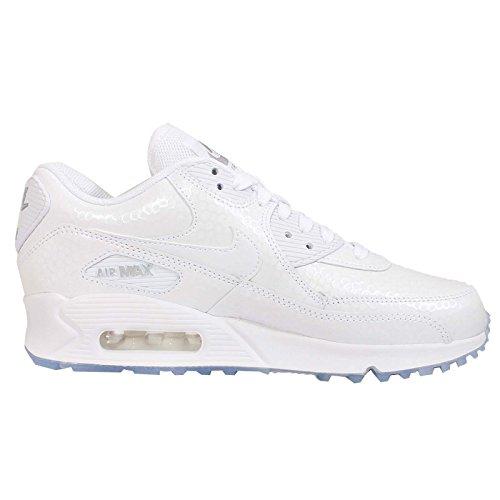 Nike - Wmns Air Max 90 Prem - , homme, blanc (white/white), taille Blanc