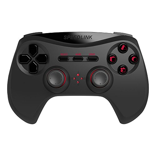 Speedlink Strike NX Gamepad für PS3 Wireless - Gaming Controller - Kabellos - 10m Reichweite - 8h Spielzeit - Schwarz