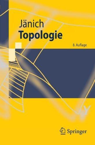 Topologie (Springer-Lehrbuch) (German Edition) by Klaus Jänich (2011-12-04) par Klaus JÀnich