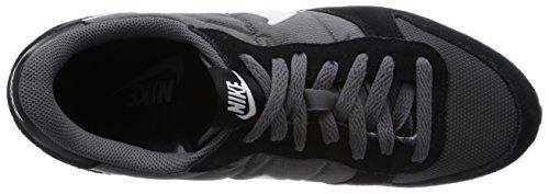 Nike Genicco, Chaussures de Fitness Femme Gris (dark Grey/white-black 018)