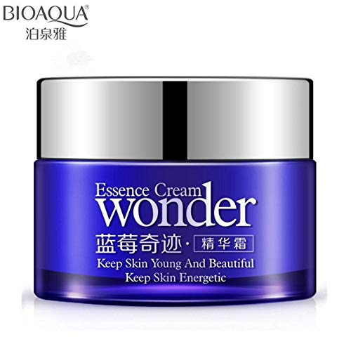 Tyro BIOAQUA Brand Blueberry Skin Care Whitening Face Cream Deep Moisturizing Face Cream Hydrating Anti-Aging Anti Wrinkle Cream 50g