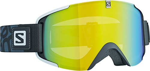 Salomon Xview - Gafas de esquí, color negro (lowlight light yellow)