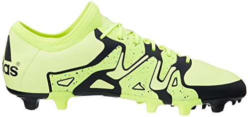 adidas X15.2 FG/AG, Chaussures de football homme Lima / noir