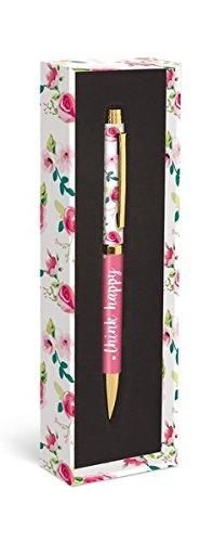 Fashion Pen: Pretty Floral – Modischer Kugelschreiber: Schön geblümt: Unser praktischer Kugelschreiber in der dekorativen Geschenkverpackung (Kugelschreiber in der Geschenkverpackung)