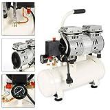 12L Druckluftkompressor 680W ölfrei Air Kompressor Luftkompressor Ölfreie Druckluft-Kompressor DHL