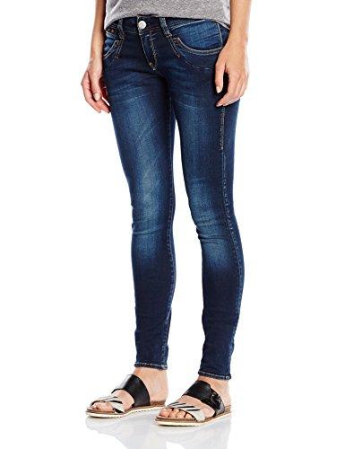 Herrlicher Damen Piper Slim Jeans, Blau (Clean 051), W31/L32...