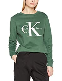 Calvin Klein Jeans Women's Crew Neck HWK True Icon Sweatshirt