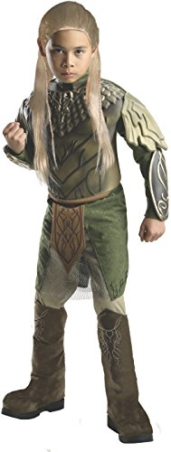 Kostüm Muster Jäger - Der Hobbit Deluxe Legolas Kinderkostüm - L - 140cm