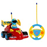 PowerLead Prac RC Car Cartoon Cars Action Figure Cars Music Playing Cars Toy