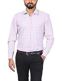 [Sponsored]WILLOWY Men's Check Shirt - Full Sleeve - Slim Fit