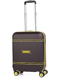 VICTORIO & LUCCHINO - 56050 55x40x20 Maleta trolley 50 cm cabina ABS. Equipaje de mano. Mango telescópico, Asas y 4 ruedas. Vuelos low cost Ryanair Vueling. Candado TSA.