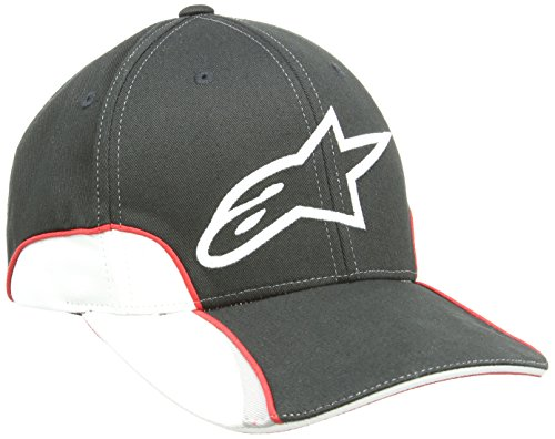 Alpinestars Herren Hut Champion Hat, Black, One size, 1015-85005 -