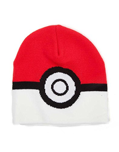 Close Up KC091722POK Pokémon Beanie Pokéball, Mehrfarbig, ()