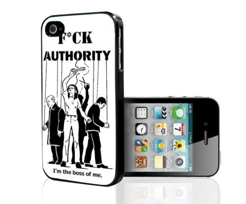 fck-authority-im-the-boss-hard-snap-on-cell-phone-case-cover-iphone-4-4s-by-icecream-design