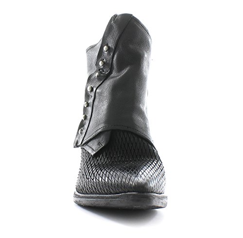 A.S.98 Bottine Satur 860204-301 Black Airstep as98 Black